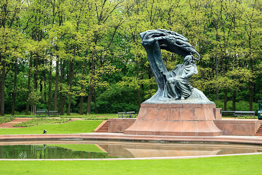 Visiting-Warsaw.Com_Lazienki Park_Chopin